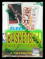 1993-94 Fleer Basketball Complete Your Set Pick 25 Cards From List