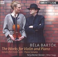 Bartok: Works for Violin & Piano / Tanja Becker-Bender