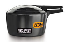 Futura 2 Ltr Hard Anodised Induction Base Pressure Cooker IFP20 By Hawkins