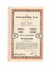 PALERMO - Industrial & Comercial SA – Azione, 20 Pesos, BUENOS AIRES, 15.2.1973
