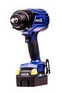 "A-BA1250 1/2"" Dr High Torque Impact Wrench 5.0Ah Battery Weight 2.32kg Brushless"