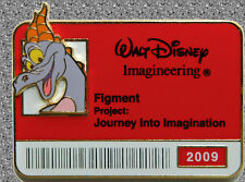 WDI ID Badge Series 2009 Figment Pin - DISNEY LE 300