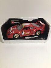 Bburago  Ferrari F40 Red Burago Rare Made in Italy w/o box SEE PICS!!!