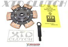 XTD STAGE 3 PERFORMANCE 6 PUCK CERAMIC CLUTCH DISC &TOOL FITS NISSAN 240mm X 24T