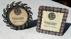 PHOTO FRAME, The French Collection, Glass Act Studio, Pink or Clear Rhinestones