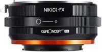 K&F Concept Matting Varnish Design Lens Mount Adapter Nikon G to Fujifilm Fuji X