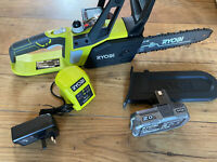 Ryobi OCS1825 ONE+ 18v Li Ion Cordless Chainsaw with Battery + Charger New Tool