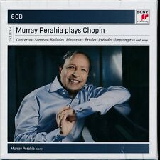 Murray Perahia Plays Chopin 6-disc CD NEW 24 bit