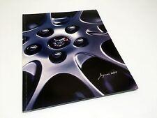2000 Jaguar XJ8 Vanden Plas XJR XK8 Brochure