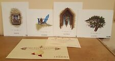 BEN RICHMOND *Limited Edition* , signed complete set of the Four Seasons !  COA