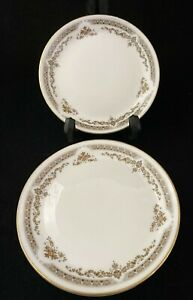Four Royal Doulton Gold Rimmed Coasters or Saucers
