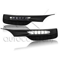 For 16-17 Honda Accord 4 Door Sedan Bumper LED Fog Lights w/Wiring Kit
