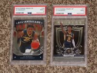 Ja Morant RC Bundle 2019 Panini Prizm DP Draft Picks #11 #44 PSA 9 MINT Lot