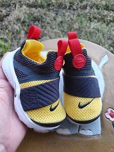 Nike Presto Extreme Black/Yellow/Red BRAND NEW Toddler 6C