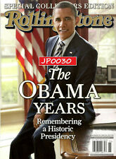Rolling Stone Collectors Edition 2020, The Obama Years, New/Sealed, Reissue