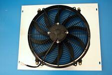 """KKS Aluminum Radiator SHROUD FAN W/ 16"""" 1963-1967 MOPAR 22"""" Wide Core"""