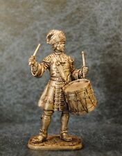 Tin Soldiers * Drummer of the Preobrazhensky Rgt, 1712 Russia * 54-60 mm *