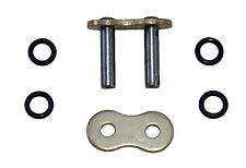 Rear chain link, rivet link, 530 TVH heavy duty 'X' ring GOLD