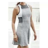 Athleta Derek Lam IOC Grey Downtown Dress Size M