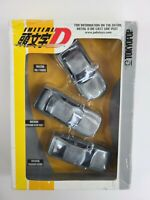 TokyoPop INITIAL D Die Cast JAPANESE IMPORT CARS  RARE COLLECTOR'S SET