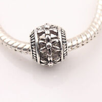 10/20Pcs Tibet Silver Hollow Big Hole Loose Spacer Beads Jewelry Finding DIY