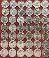 Roosevelt Dime Set 2000 - 2020 P/ D BU Complete Set Of 42 BU Dimes