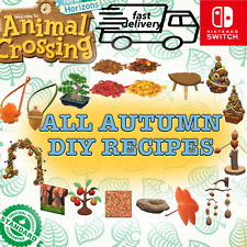 ✨18 AUTUMN DIY RECIPES✨Animal Crossing New Horizons Fast Delivery🚚