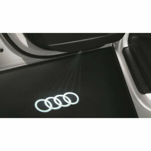 Genuine Audi Rings Entry Puddle Light Set - 4G0052130A