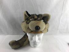 Jaag Plush Kids Adjustable Wolf Hat. Used