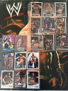 CM Punk WWE Topps Card Lot Top Class Matches Championship Material Classic AJ