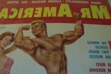 GAY / VINTAGE MUSCLES MAGAZINE/ MR AMERICA SEPT 1958/ DICK DUBOIS