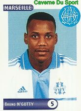 143 BRUNO N'GOTTY OLYMPIQUE MARSEILLE OM VIGNETTE STICKER FOOT 2001 PANINI