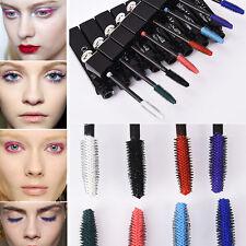 Color Eyelash Mascara Women's Décor Lengthening Thickening Curling Makeup Tool