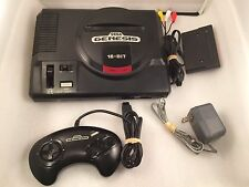Sega Genesis Model 1 Console -  Complete Original System Bundle Black Lot Tested
