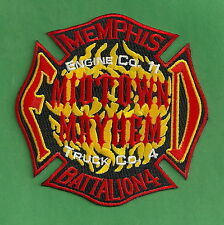 MEMPHIS TENNESSEE FIRE DEPARTMENT ENGINE 11 TRUCK 4 COMPANY PATCH