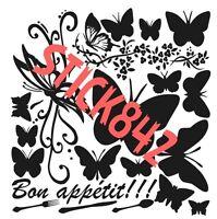 Planche Stickers Papillon ( Cookeo )
