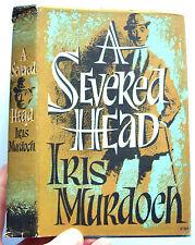 A SEVERED HEAD Iris Murdoch 1961 Book Club Edition (Foyles) HB DJ VGC