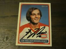 GUY LAFLEUR SIGNED AUTOGRAPHED 1993 O-PEE-CHEE OPC CANADIENS CARD