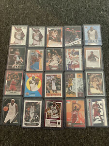 lebron james 25 Card Lot Mixed Years, 2004-2020 NBA Rookie
