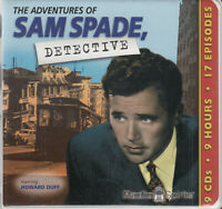 Adventures Of Sam Spade Detective 9CD Audio Drama Crime Thriller Howard Duff