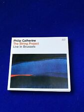 NEW Philip Catherine The String Project Live in Brussels Jazz ACT CD Promo Copy
