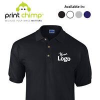 Gildan Personalised Polo Shirt Printed Logo Customised | Workwear | Printing