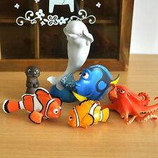 6Pcs Finding Dory Nemo 2 Movie Cake Topper Figure Kids Toy Xmas 2017 Gift