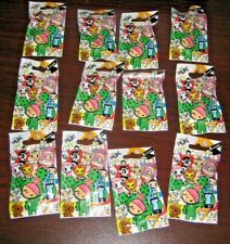 NEW IN PACKAGE LOT OF 12 SEALED  TOKIDOKI FIGURES / PIECES JULY 2013