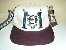 Anaheim Mighty Ducks VINTAGE STARTER Hat  Stretch Fit NWT Fits Size 6 5/8 -7 1/8