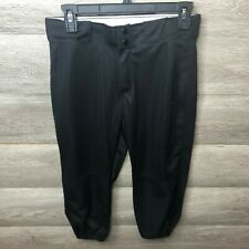 Russell Womens Size Small Black Low Rise Knicker Fastpitch Softball Pants NEW