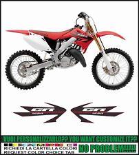 kit adesivi stickers compatibili cr 125 r 2006
