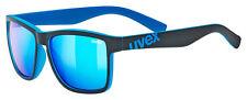 Uvex Fahrradbrille Lifestyle Sonnenbrille lgl 39 black mat-blue