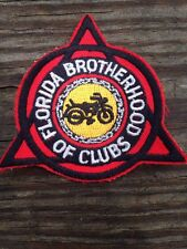 Florida Brotherhood M.C. MC MOTORCYCLE CLUB Patch Outlaw GAY LGBT Vntage