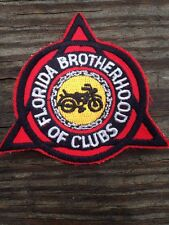 Florida Brotherhood M.C. MC MOTORCYCLE CLUB Patch Outlaw GAY LGBT Vintage